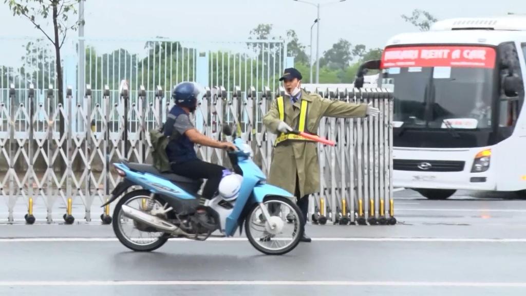 协力确保工业区的交通安全秩序