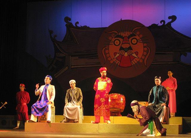 Cuộc thi Nghệ thuật sân khấu Chèo chuyên nghiệp toàn quốc