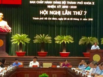 khai mac hoi nghi lan thu 7 ban chap hanh dang bo tphcm khoa 10