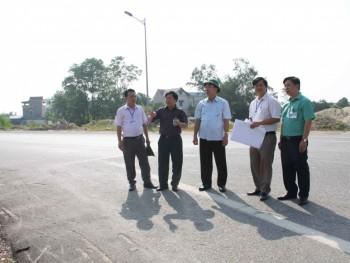 Đồng chí Bí thư Tỉnh ủy kiểm tra Dự án Khu đô thị dịch vụ công nghiệp Yên Bình