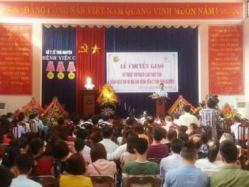 Chuyển giao kỹ thuật tim mạch can thiệp cho Bệnh viện C tỉnh Thái Nguyên