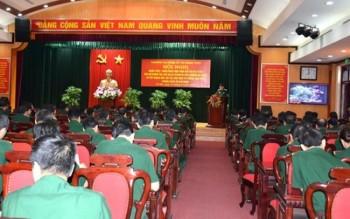 Thường vụ Đảng ủy cơ quan Tổng cục Chính trị quán triệt, triển khai thực hiện Chỉ thị 05-CT của Bộ Chính trị