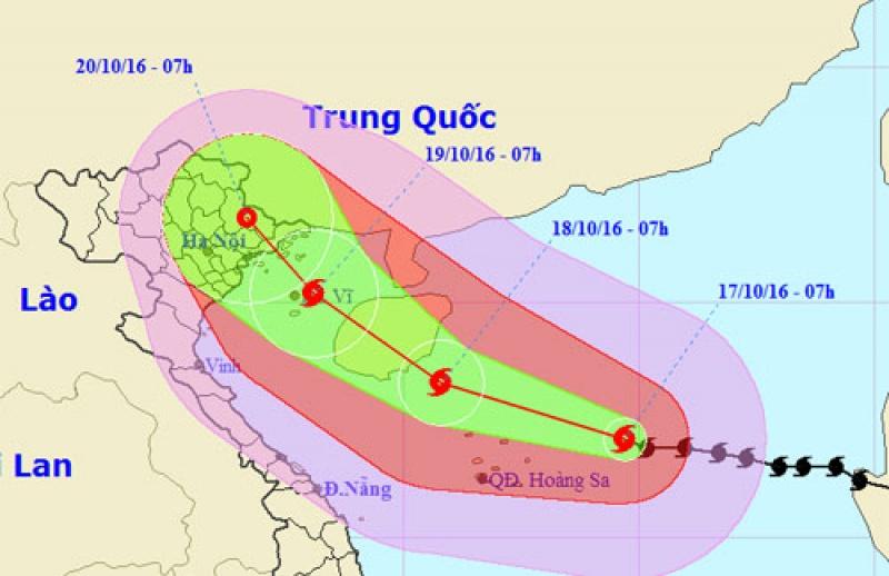 * Công điện về việc ứng phó khẩn cấp cơn bão số 7 (bão Sarika)