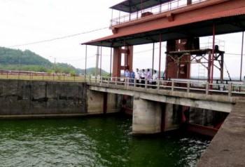 Đảm bảo an toàn công trình thủy lợi Hồ Núi Cốc trước cơn bão số 7