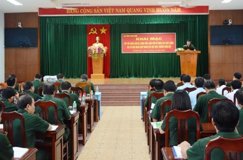 Nâng cao chất lượng dạy, học ngoại ngữ trong các học viện, trường Quân đội