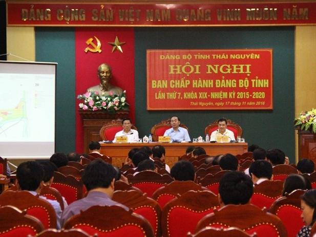 Hội nghị Ban chấp hành Đảng bộ tỉnh lần thứ 7, nhiệm kỳ 2015 - 2020