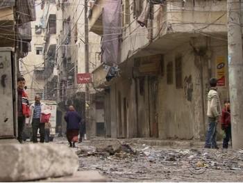 syria so tan 20000 dan thuong ra khoi phia dong aleppo
