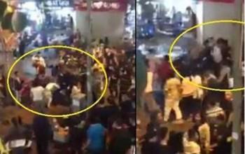 Hỗn chiến ở phố đi bộ Hà Nội do mâu thuẫn trên facebook