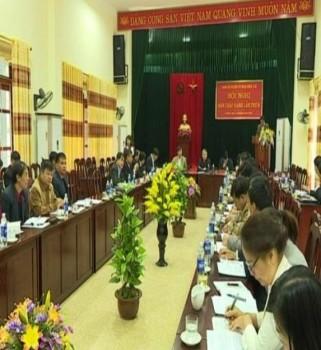 Hội nghị Ban Chấp hành Đảng bộ huyện Võ Nhai lần thứ 8