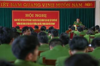 Cảnh sát Phòng cháy và chữa cháy tỉnh Thái Nguyên: Quán triệt Chỉ thị số 05-CT/TW