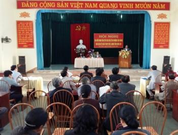 Đại biểu HĐND tỉnh tiếp xúc cử tri tại các địa phương