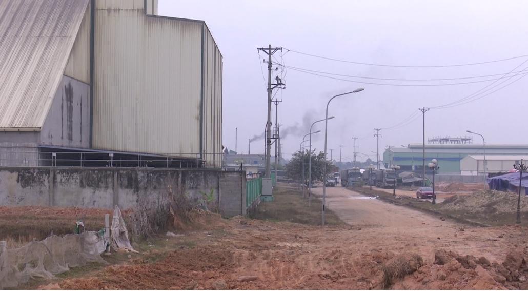 Khu công nghiệp Trung Thành ảnh hưởng đến cuộc sống của người dân