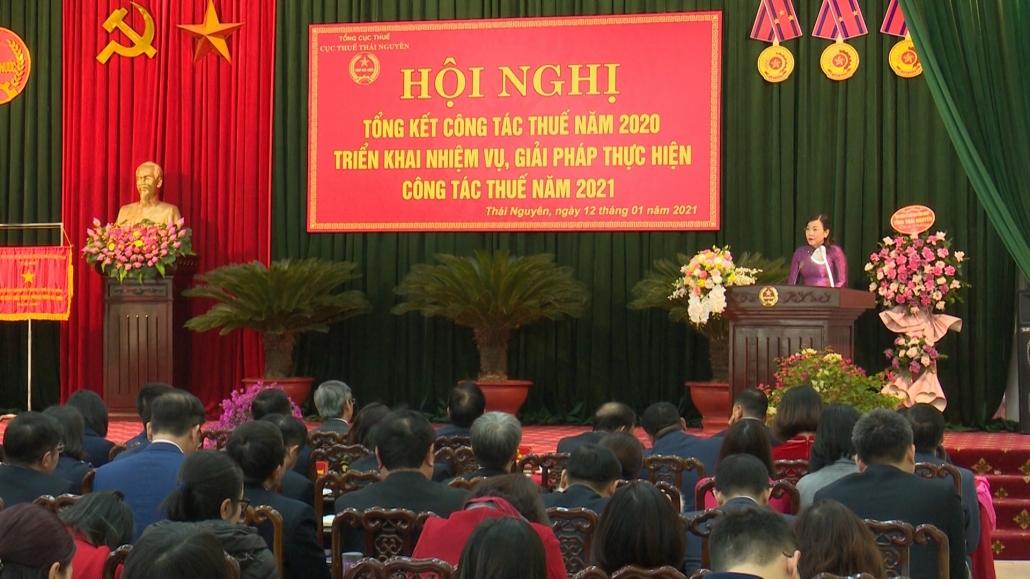 Cục Thuế Thái Nguyên triển khai nhiệm vụ năm 2021