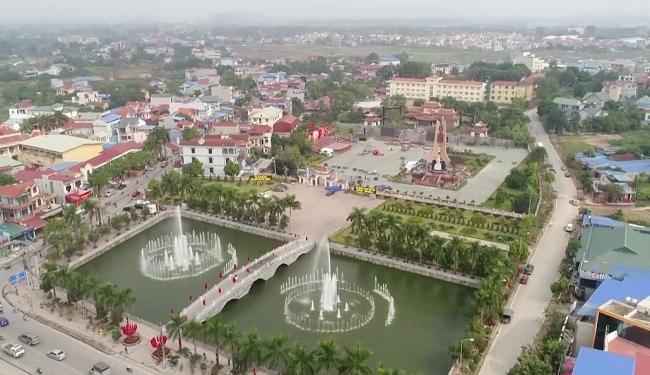 Phổ Yên hướng tới xây dựng thành phố vào trước năm 2025