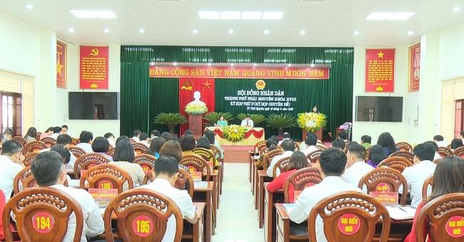 Kỳ họp thứ 17 HĐND thành phố Thái Nguyên khóa XVIII