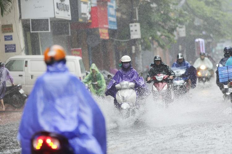 Thời tiết ngày 22/9: Bắc Bộ đón không khí lạnh tăng cường gây mưa rào và dông rải rác