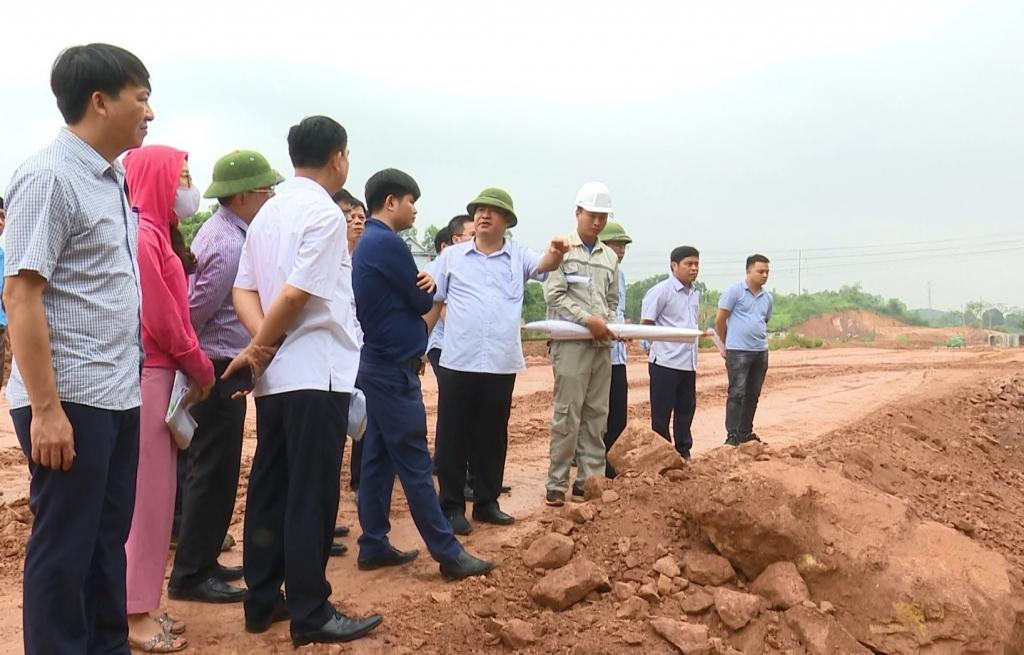 Giải quyết vướng mắc dự án đường Bắc Sơn kéo dài