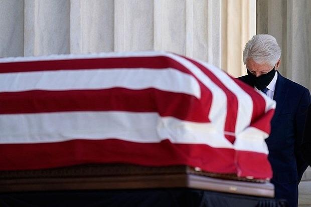 Tổng thống Mỹ Trump sẽ đến dự lễ tang nữ Thẩm phán Ruth Bader Ginsburg