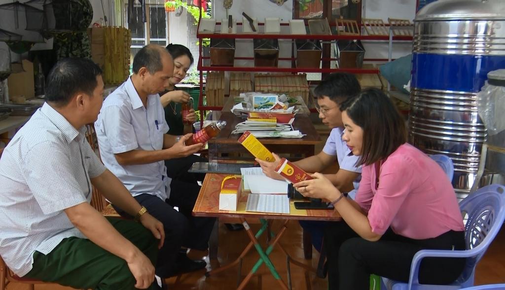 Thẩm định các sản phẩm nông sản tiêu biểu tỉnh Thái Nguyên năm 2020