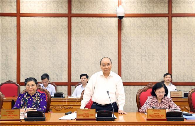Bộ Chính trị làm việc với 4 Đảng bộ trực thuộc Trung ương