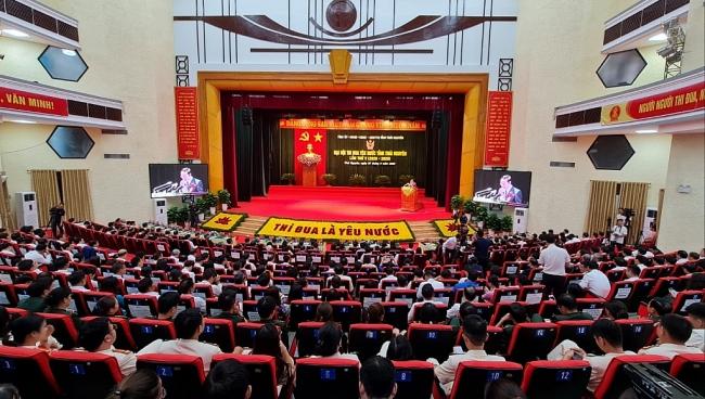 [Photo] Toàn cảnh Đại hội thi đua yêu nước tỉnh Thái Nguyên lần thứ V, giai đoạn 2020 - 2025