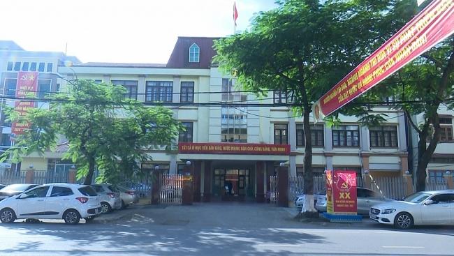 Trụ sở cơ quan Thanh tra tỉnh là địa điểm tiếp công dân phục vụ Đại hội Đảng bộ tỉnh Thái Nguyên