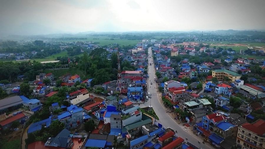 Đô thị tại thị trấn Hùng Sơn, Đại Từ từng bước khởi sắc