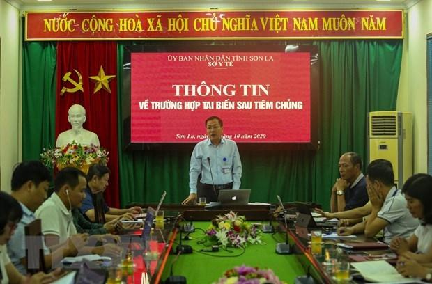 Xác định nguyên nhân trẻ tử vong sau tiêm chủng tại Sơn La
