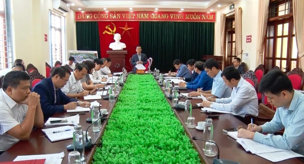 Phú Bình cho ý kiến về các đề án, chương trình trọng điểm