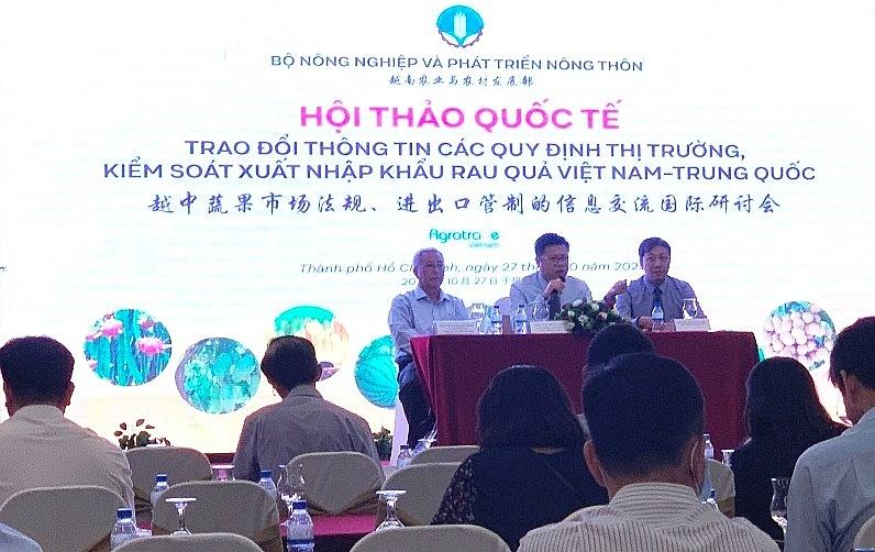 Xuất nhập khẩu nông sản Việt Nam-Trung Quốc đạt hơn 9,8 tỷ USD