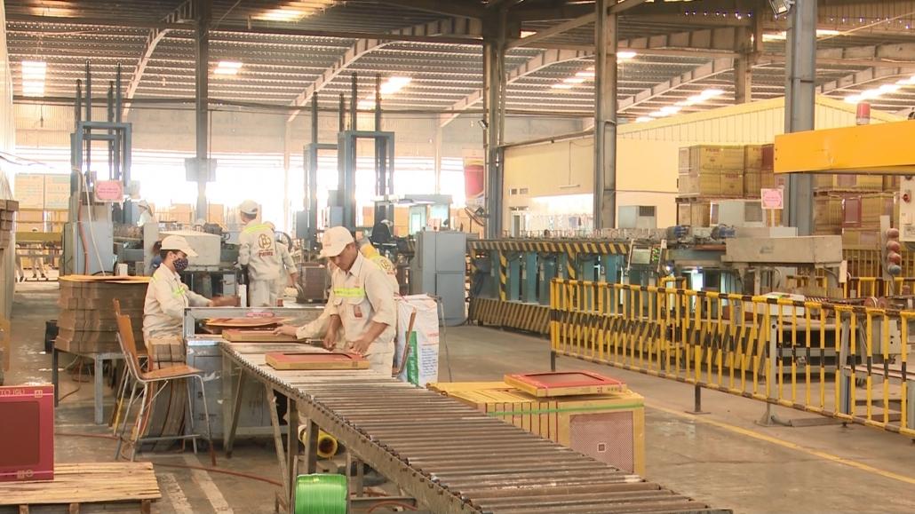 Phấn đấu giá trị sản xuất công nghiệp tăng bình quân từ 9%/năm trở lên