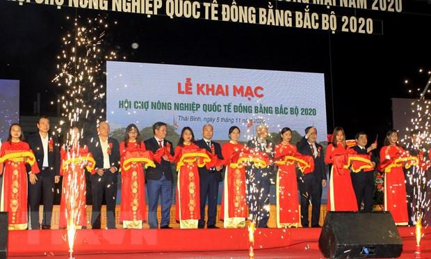 Khai mac Hoi cho Nong nghiep quoc te dong bang Bac Bo 2020 hinh anh 1