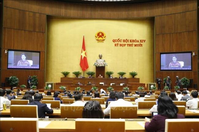 Quốc hội tiếp tục hoạt động chất vấn, thảo luận dự thảo Văn kiện trình Đại hội XIII của Đảng