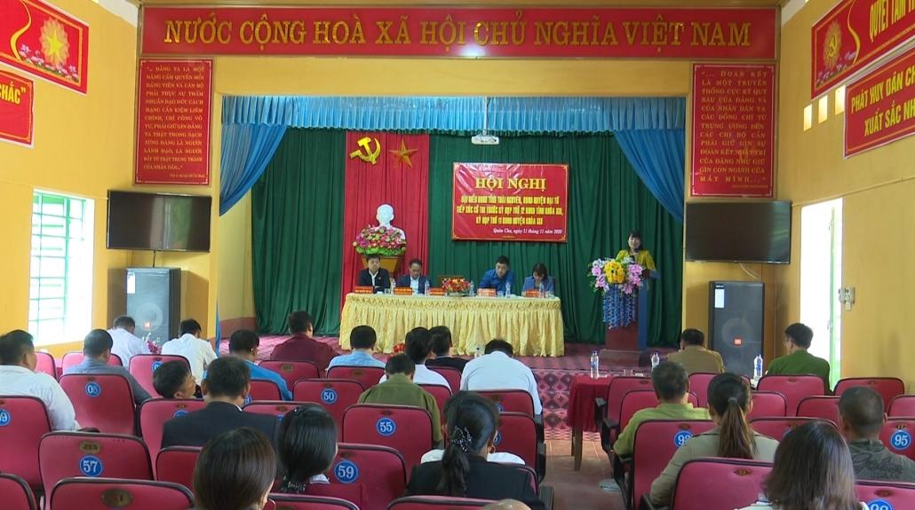 Tiếp xúc cử tri trước Kỳ họp thứ 12, HĐND tỉnh khóa XIII
