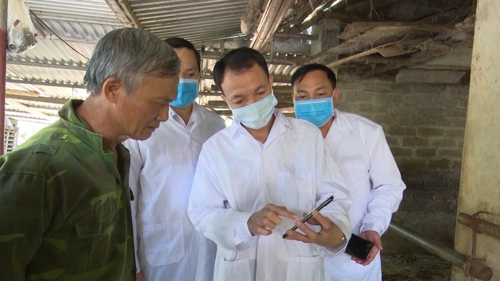 Kiểm tra công tác phòng dịch bệnh gia súc, gia cầm huyện Đồng Hỷ