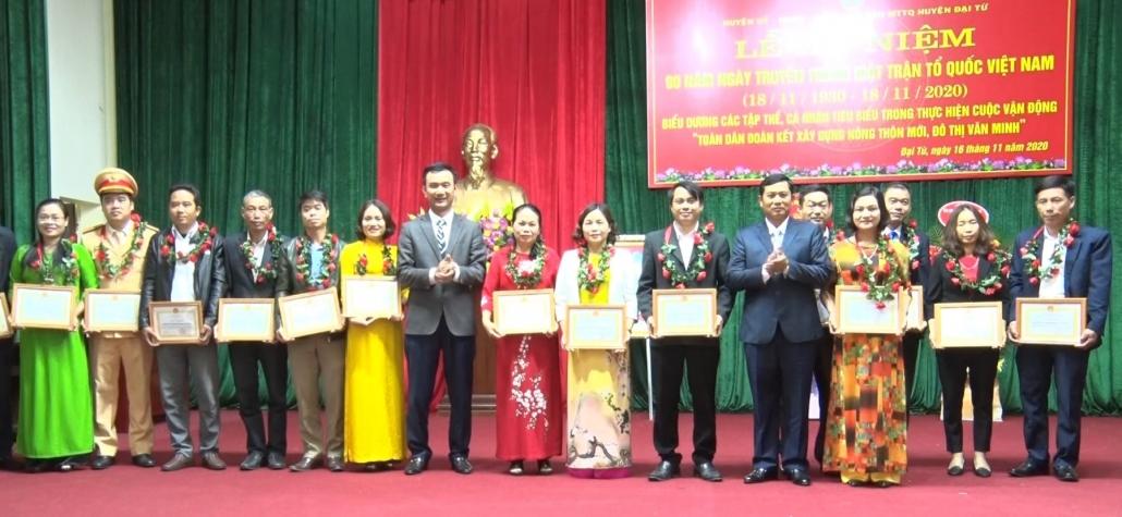 Kỷ niệm 90 năm Ngày truyền thống Mặt trận Tổ quốc Việt Nam