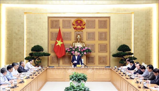 """Thủ tướng Nguyễn Xuân Phúc: Cần """"tăng trưởng xanh"""" trong phát triển ngành dệt may"""