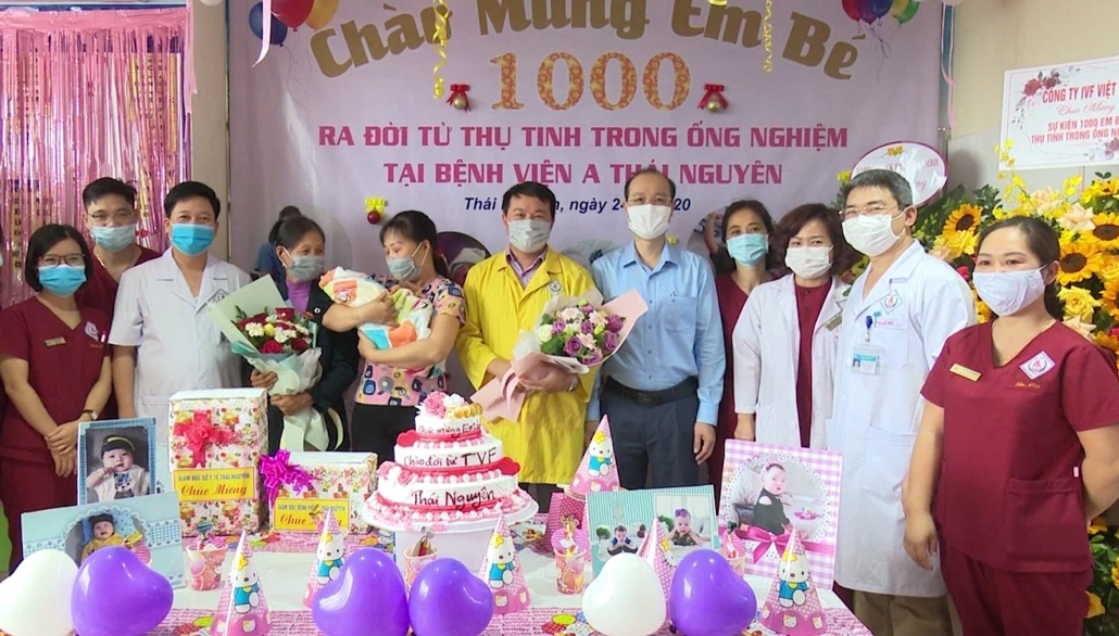 Đón em bé thứ 1.000 chào đời từ phương pháp thụ tinh trong ống nghiệm