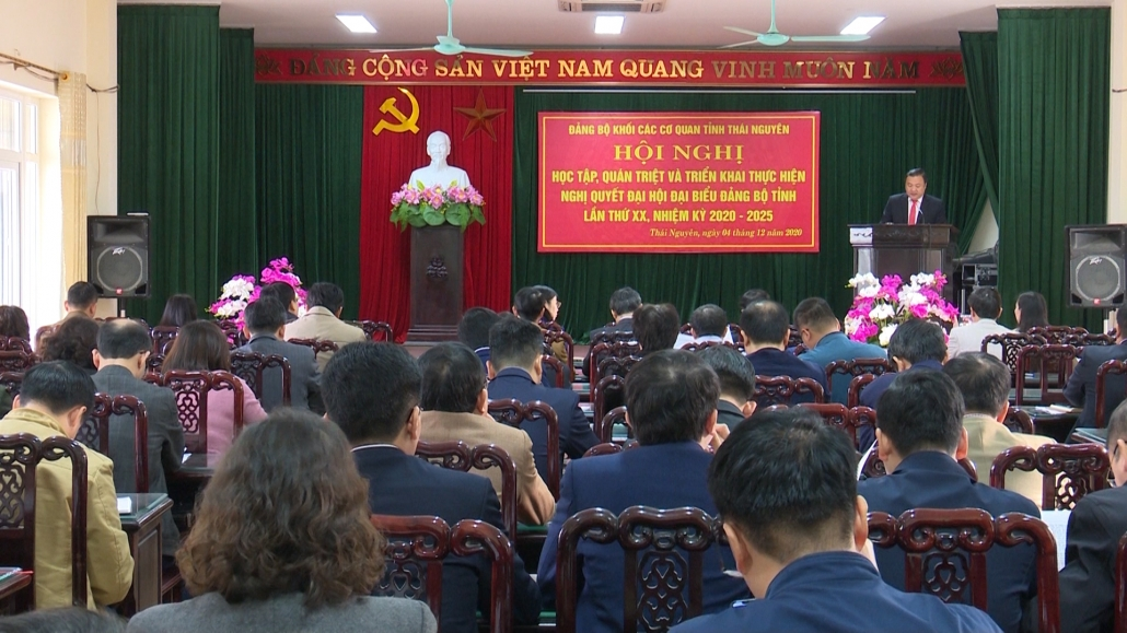 Quán triệt và triển khai thực hiện Nghị quyết Đại hội Đảng bộ tỉnh lần thứ XX