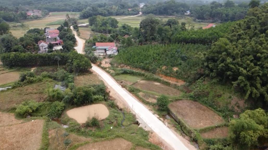 Gỡ khó trong xây dựng nông thôn mới ở Hợp Tiến
