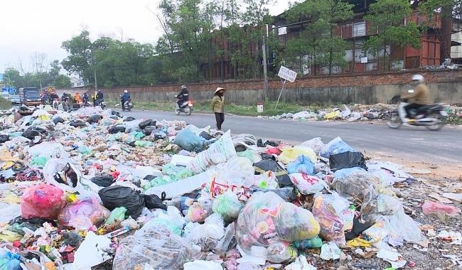Bãi rác tự phát gây ô nhiễm môi trường