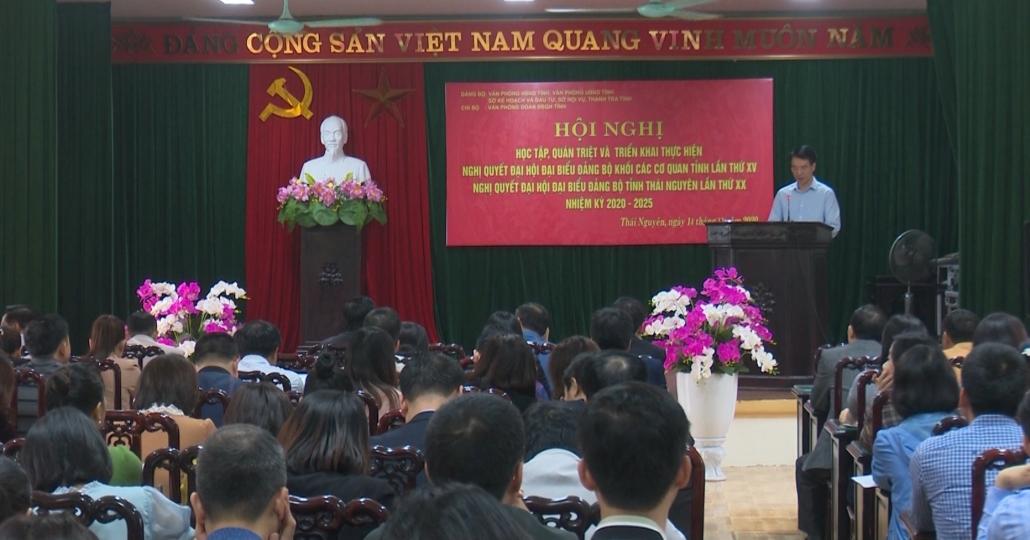 Quán triệt và triển khai thực hiện Nghị quyết Đại hội Đảng bộ các cấp
