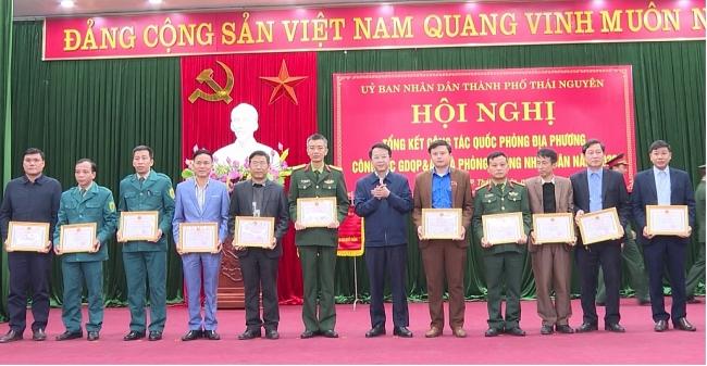 Thành phố Thái Nguyên tổng kết công tác quốc phòng - quân sự địa phương năm 2020