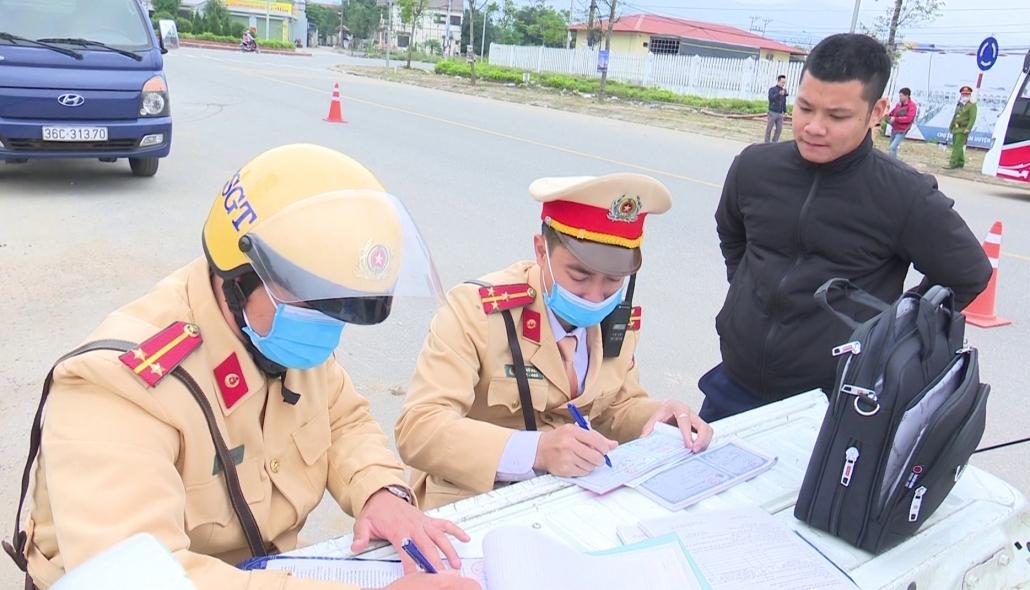 Đại Từ: Tăng cường đảm bảo trật tự an toàn giao thông cuối năm