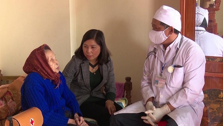 Quan tâm nâng cao sức khỏe người cao tuổi
