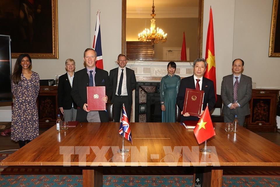 Bước ngoặt trong quan hệ đối tác chiến lược Việt Nam-Vương quốc Anh