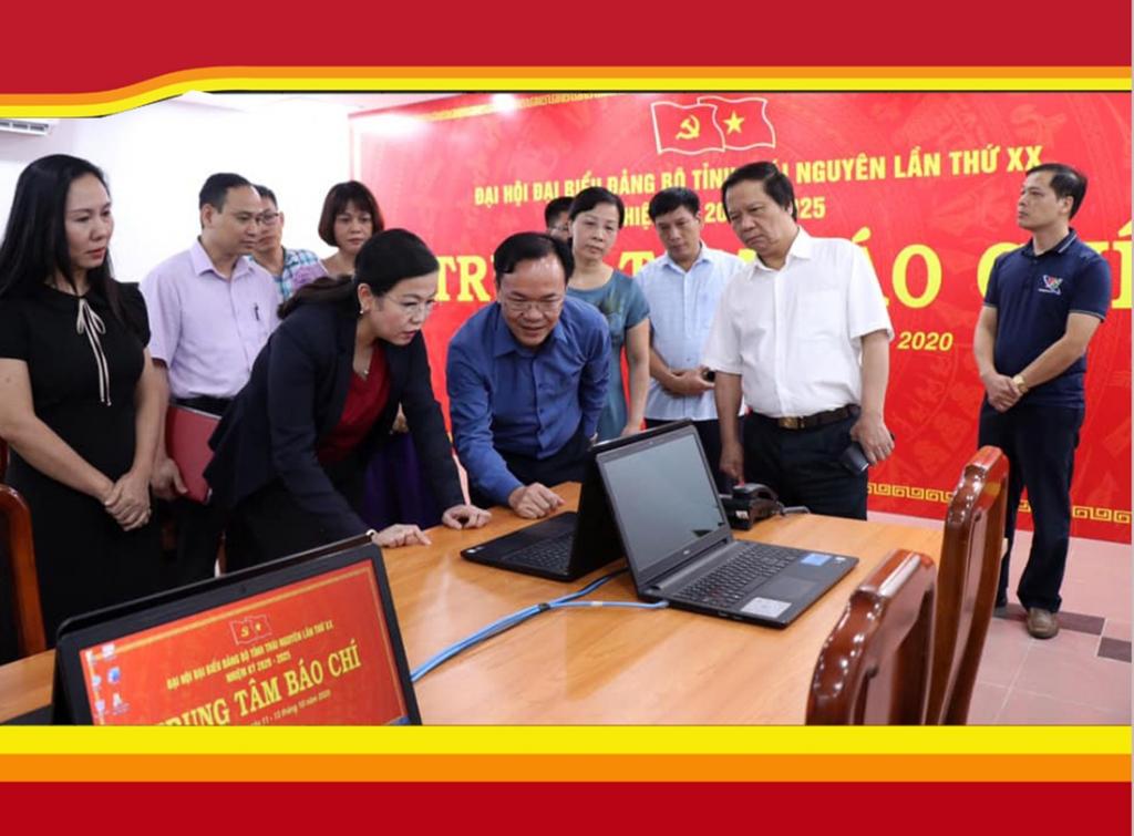Công tác tuyên truyền góp phần quan trọng vào thành công Đại hội Đảng bộ tỉnh Thái Nguyên