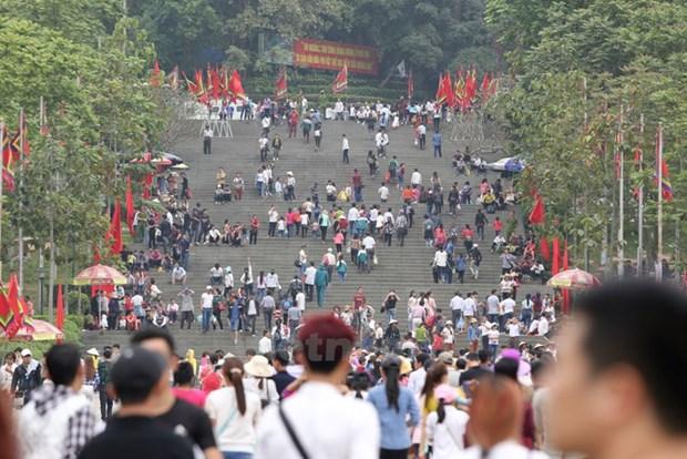 Lễ dâng hương Giỗ Tổ Hùng Vương hạn chế đại biểu để phòng COVID-19