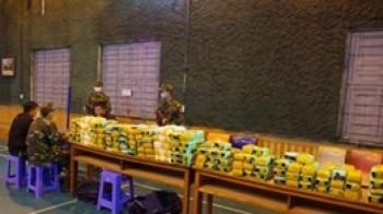 Phá đường dây ma túy xuyên quốc gia, thu giữ gần 450kg ma túy tổng hợp