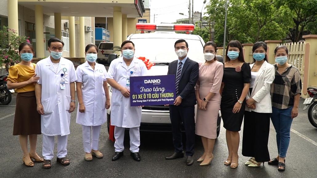 Tập đoàn Danko chung sức đồng lòng cùng người dân Thái Nguyên vượt qua đại dịch